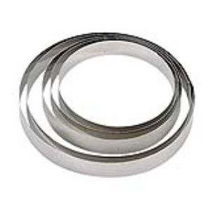 De Buyer 3989.06 - Cercle Collectivité en inox (4,5 x  6 cm)