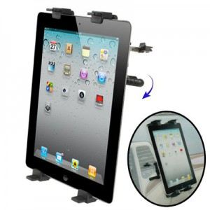 Support voiture grille de ventilation pour iPad