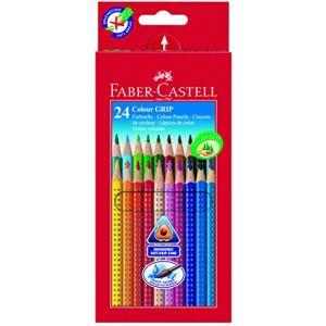 Faber-Castell 24 Crayons de couleur Grip 2001