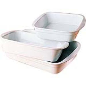 Pillivuyt 2250429bl1 - Plat à lasagnes rectangulaire (24 x 29 cm)