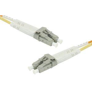 Neklan 2070532 - Cordon fibre optique Duplex multimode 50/125 LC / LC OM3 3 m