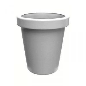 Lisséa 60 - Pot de fleurs rond en plastique soufflé Ø60 cm