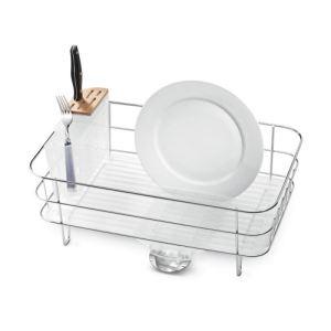 Simplehuman KT1107 - Egouttoir à vaisselle en inox
