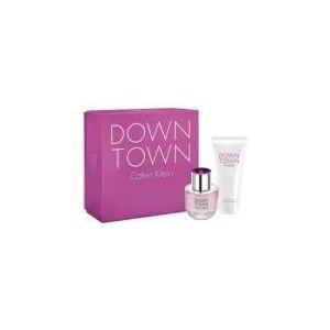 Calvin Klein Down Town - Coffret eau de parfum et lait pour le corps