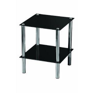 Premier housewares Table d'appoint 2 niveaux étagères