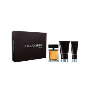 Dolce & Gabbana The One - Coffret eau de toilette, baume après-rasage et gel douche