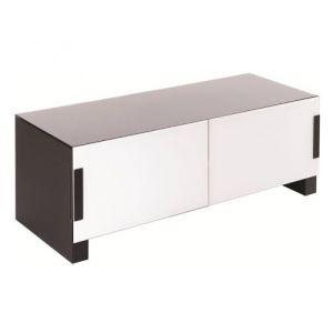 Meuble tv 110 cm blanc comparer 138 offres for Meuble tv blanc 110 cm