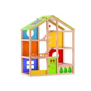 Hape Maison de poupée en bois non meublée