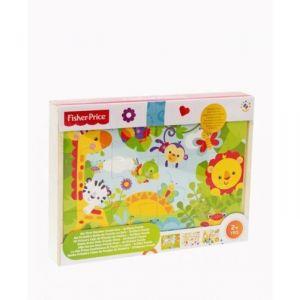 Fisher-Price Ma 1ere boîte de puzzle en bois