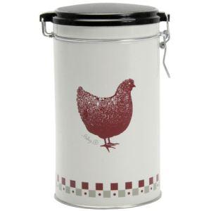 Quid Boîte à café Gallina ronde (500 g)