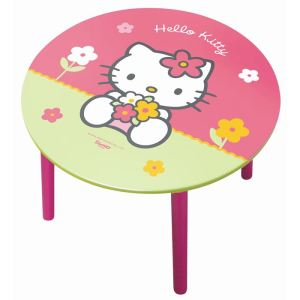 Table ronde Hello Kitty