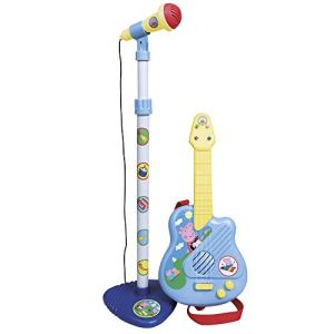 Reig Musicales 2322 - Guitare et microphone Peppa Pig