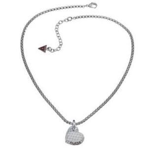 Guess UBN11425 - Collier Coeur Python argenté pour femme