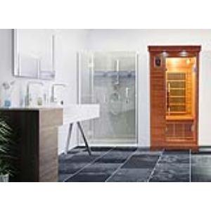 France Sauna Luxe 1 - Sauna cabine infrarouge pour 1 personne