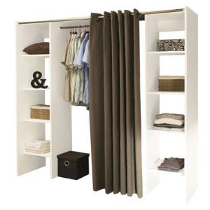 armoire penderie conforama comparer 163 offres. Black Bedroom Furniture Sets. Home Design Ideas