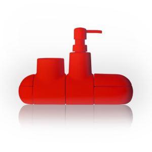 Accessoires salle de bain rouge comparer 184 offres for Accessoires de salle de bain paris