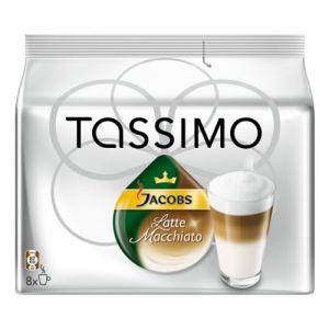 Tassimo 8 dosettes T-Discs Jacobs Latte Macciato