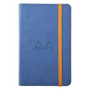 Rhodia 118648C Rhodiarama saphir A6 - Webnotebook format 9 x 14 cm, 192 pages ligné