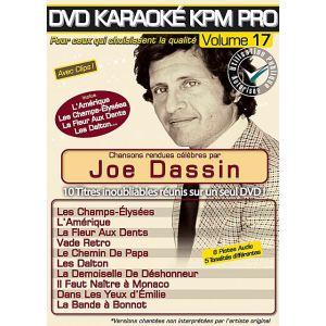 Karaoké Kpm Pro - Volume 17 : Joe Dassin
