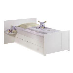 498 offres chevet blanc avec tiroir comparez avant d 39 acheter en ligne. Black Bedroom Furniture Sets. Home Design Ideas
