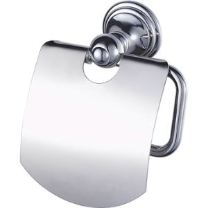 Haceka 1126180 - Porte papier WC Allure avec couvercle en acier