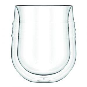 Bodum SKAL - Set de 2 verres a vin blanc double paroi 0,19L