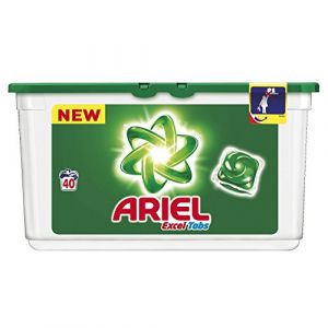 Ariel Lessive tablettes Excel Tabs 40 lavages - lot de 2