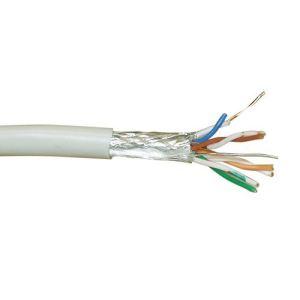 Inline 73100 - Câble réseau Cat. 5e 100 mètres (Beige)