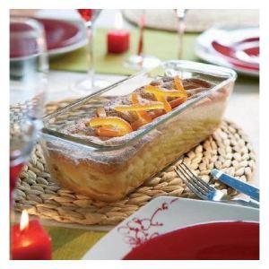 Pyrex Moule à cake Classic en verre 30 cm