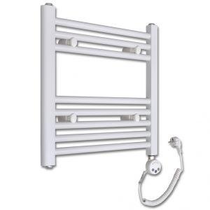 VidaXL 140871 - Radiateur sèche-erviettes vertical avec thermostat 480x480mm