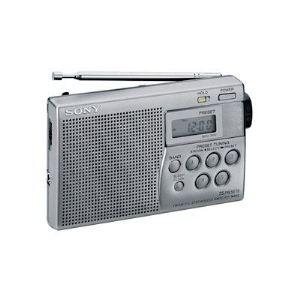 Sony ICF-M260/S - Radio portable avec fonction horloge