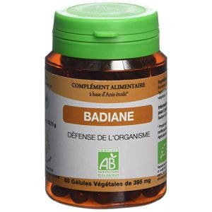 Graine sauvage Badiane Bio Pilulier de 60 Gélules