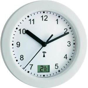 TFA Dostmann 60.3501 - Horloge murale avec température