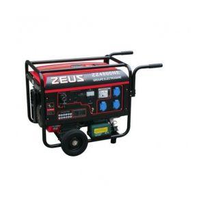 Zeus 4800NE - Groupe électrogène essence 4500W démarrage électrique avec kit chariot