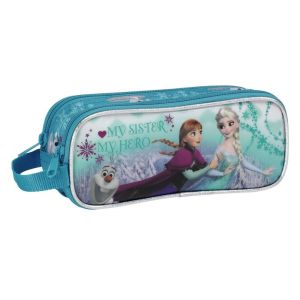 Safta Double trousse La Reine Des Neiges Ice Skating