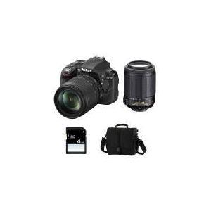 Nikon D3300 (avec 2 objectifs 18-105mm et 55-200mm)