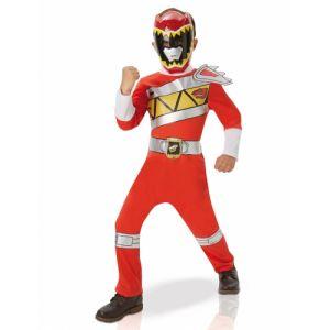 Déguisement classique Power Rangers Dino charge rouge enfant