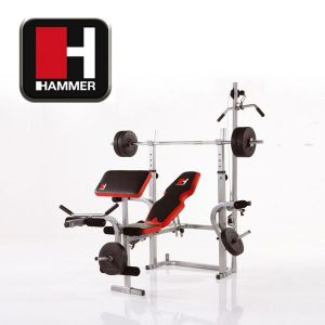 hammer bermuda xt pro banc de musculation complet. Black Bedroom Furniture Sets. Home Design Ideas