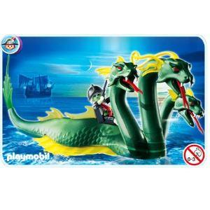 Playmobil 4805 serpent de mer trois t tes et pirate - Playmobil pirate fantome ...