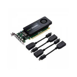 PNY VCQK1200DP-PB - Carte graphique NVIDIA Quadro K1200 4 Go GDDR5 PCIe 2.0 x16