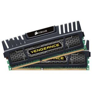 Corsair CMZ4GX3M2A1600C9 - Barrettes mémoire Vengeance 2 x 2 Go DDR3 1600 MHz CL9 Dimm 240 broches