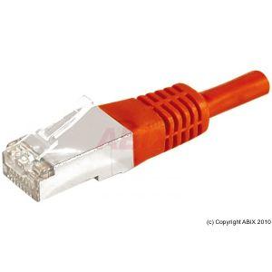 Dexlan 859542 - Cordon réseau RJ45 patch FTP Cat.6a 25 m