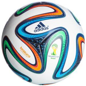 Adidas G73617 - Ballon de match officiel Brazuca OMB - Taille 5