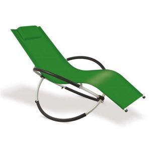 Alpina Garden Relax Attitude - Fauteuil avec tétière en textilène