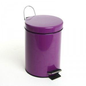 Poubelle salle de bain violet comparer 24 offres - Mini poubelle de salle de bain ...