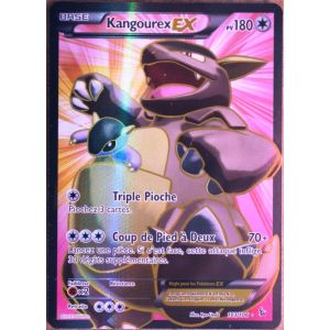 Asmodée Kangourex Ex - Carte Pokémon 103/106 Full Art série Xy Étincelles