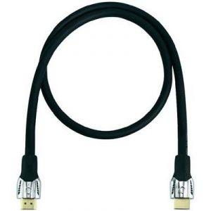 Oehlbach 42500 - Câble HDMI mâle/mâle 0.75 m noir