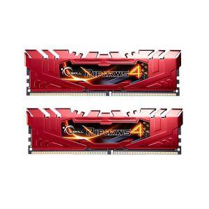 G.Skill F4-2400C15D-8GRR - Barrette mémoire RipJaws 4 Series Rouge 8 Go (2x 4 Go) DDR4 2400 MHz CL15
