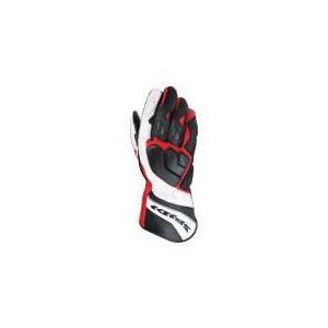 Spidi Zeta (noir et rouge) - Gants moto en cuir pour homme
