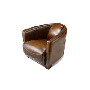 fauteuil club cuir vieilli comparer 88 offres. Black Bedroom Furniture Sets. Home Design Ideas